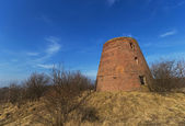 Ruined windmill — Stock Photo