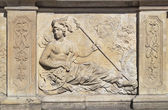 Bas-relief of Gdansk — Stock Photo