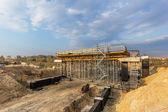 Construcción del puente — Foto de Stock