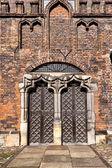 церковь святой марии в гданьске — Стоковое фото