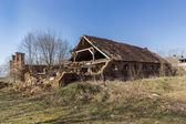 Abandoned barn — Foto Stock
