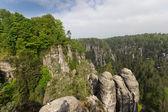 Rocks in Bastei — Φωτογραφία Αρχείου