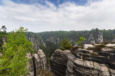 Rocks in Bastei — 图库照片