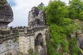 The bridge Bastei — 图库照片