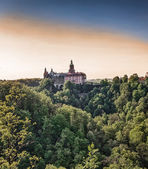 Castle in Ksiaz — Foto Stock