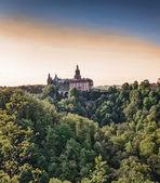 Castle in Ksiaz — Stock Photo