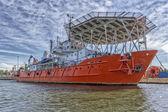 Ship offshore — ストック写真