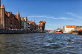 The old Town Gdansk — Stock Photo