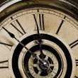 Face of Old Grandfather Clock — Stock Photo