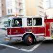 Fire Engine in a Big City — Stock Photo #19043321
