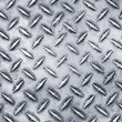 Diamond steel plate — Stock Photo