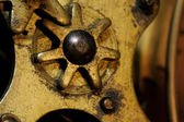 Grunge Gears — Stockfoto