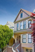 Victorian Townhome — Stock Photo