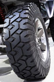 Large off-road tire — Stock Photo