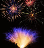 Fireworks show — Stock Photo