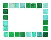 Ceramic tile frame — Stock Photo