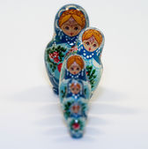 Matryoshka nesting dolls — Stock Photo