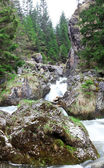 Small waterfall panorama — Stock Photo