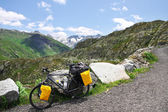 Cycling the Alps — Stock Photo