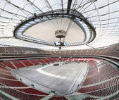Panoramic view of stadium in Warsaw — Stock Photo