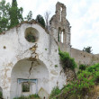 Stock Photo: Old church ruins on the Corfu Island