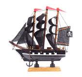 Pirate sailing ship — Stock Photo