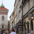 Streets of Krakow, Poland — Stockfoto