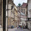 Streets of Krakow, Poland - Stock Photo