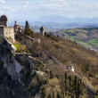 Rocca della Guaita, the most ancient fortress of San Marino, Italy — Stock Photo