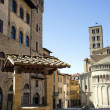 Piazza Grande - Stock Photo