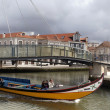 Cannals of Aveiro — Stock Photo