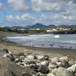 Beach in Ribeira Grande - Stock Photo