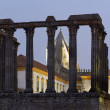 Roman Temple of Evora — Foto de Stock