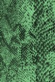 Green reptile/snake skin imitation — Stock Photo