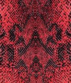 Red reptile skin pattern — Stock Photo