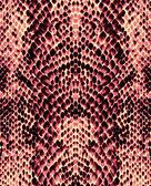 Red snake skin — Stock Photo