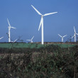 Wind turbines in Cornwall, UK — Stock Photo