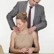 Stock Photo: Harassment in workplace