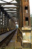 Inside the bridge — Stock Photo