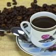 Black coffee — Stockfoto
