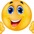 Happy Smiley Emoticon Face — Stock Photo #18438047