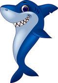 Shark cartoon — Stock Vector