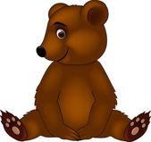 Baby bear cartoon — Stock Vector