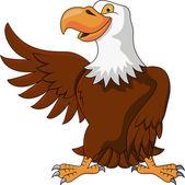 Eagle cartoon — Stock Vector