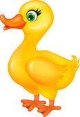 Duck cartoon — Stock Vector