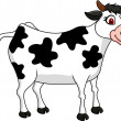 Cow cartoon  — Stock Vector