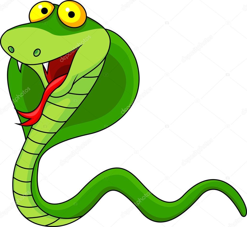 眼镜蛇卡通 — 图库矢量图像08