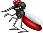 Mosquito cartoon — Stock Vector