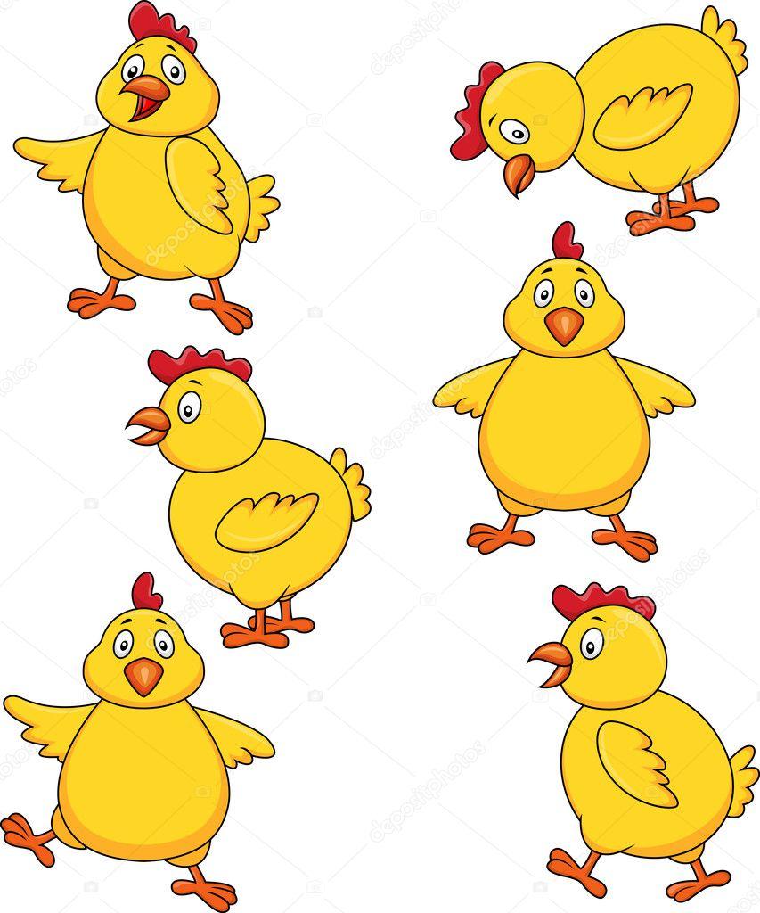 鸡可爱卡通套