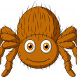 Cute tarantula spider cartoon - Stock Vector